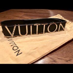 Runway RARE!! Louis Vuitton belt. 🖤